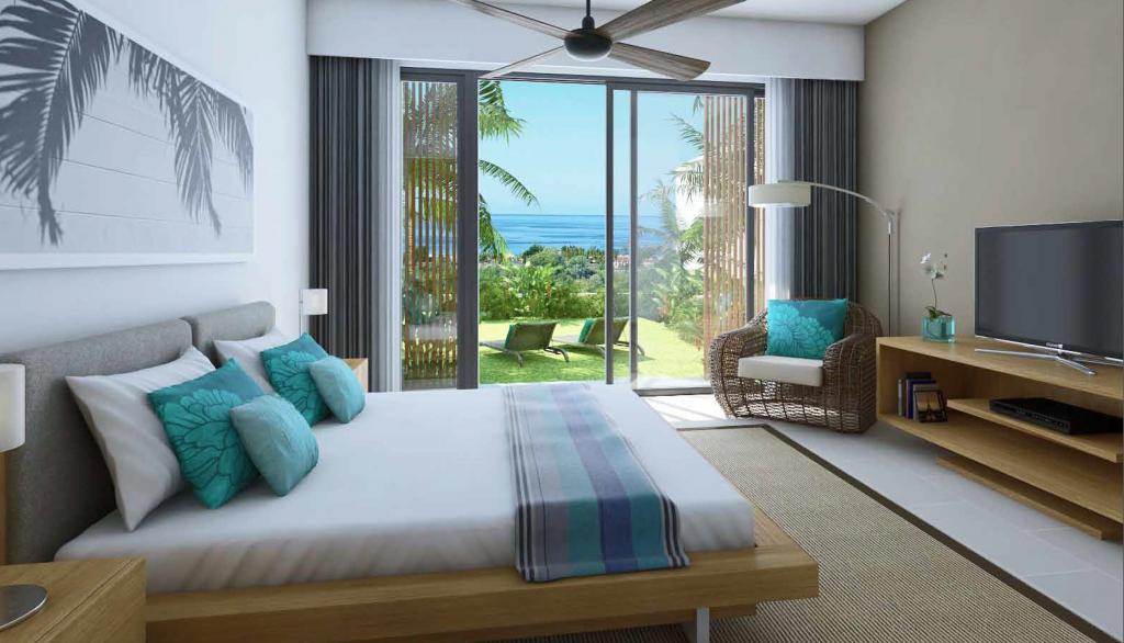 Appartement de luxe en location a l'ile Maurice Carlos Bay