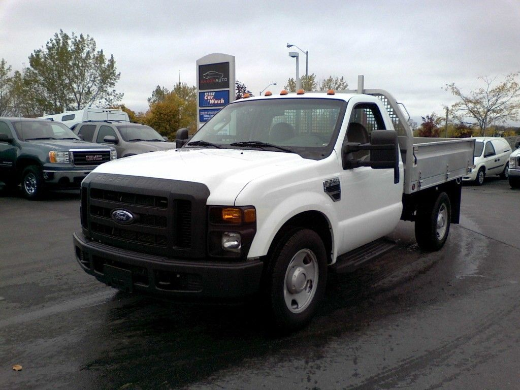 2008 Ford F 350 Flatbed W Drop Down Sides Truck Regular Cab Cars
