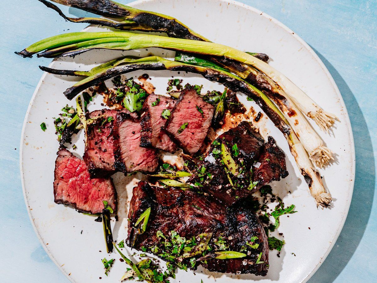 Grilled Boneless Short Ribs With Scallion Sumac Gremolata Recipe Recipe In 2020 Boneless Short Ribs Short Ribs Grilled Short Ribs