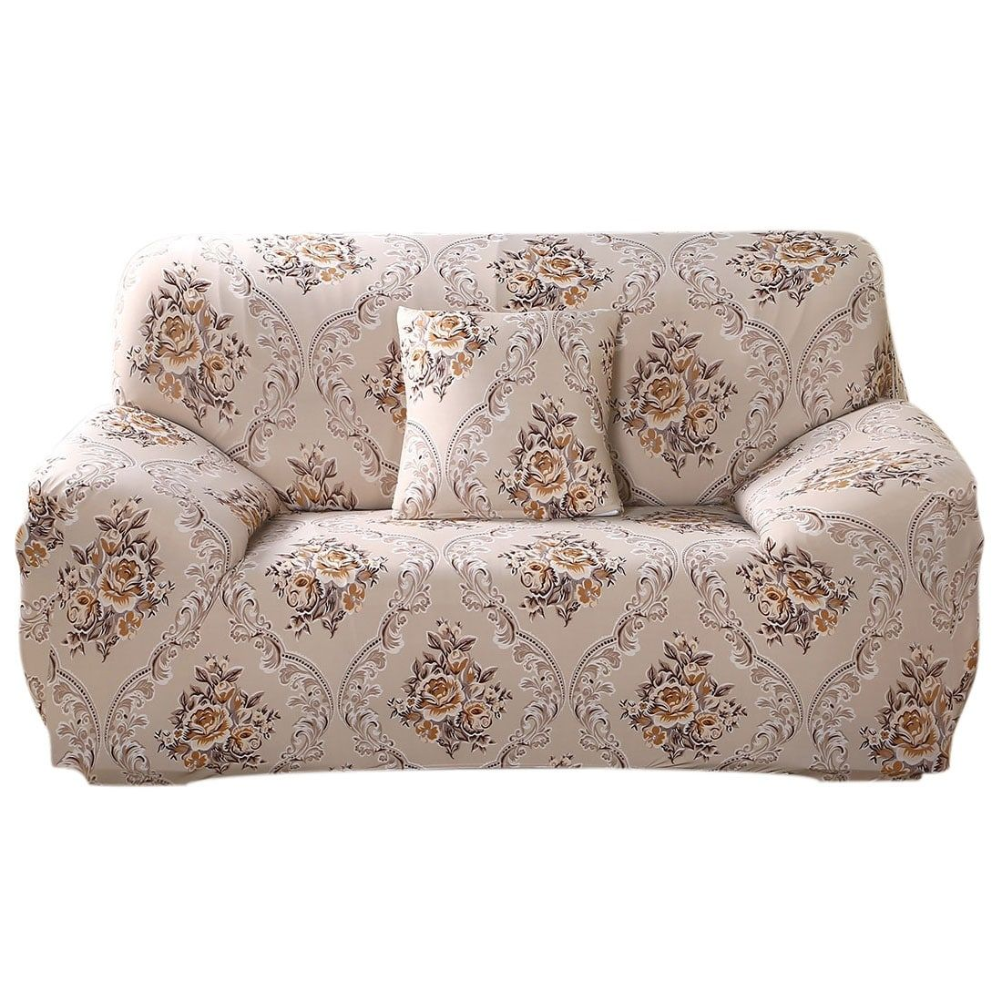 Groovy Stretch 1 2 3 Seats Sofa Cover Loveseat Slipcovers Protector Machost Co Dining Chair Design Ideas Machostcouk
