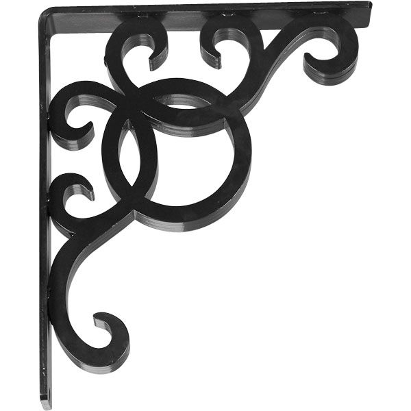 York Wrought Iron Bracket With Images Wrought Iron Corbels
