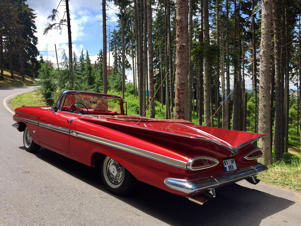 chevrolet impala 1959 convertible v8 | Classic cars in turkey ...