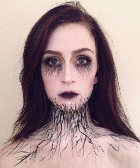 Halloween Makeup - Evil Fairy Inspiration Terrifying halloween - terrifying halloween costume ideas