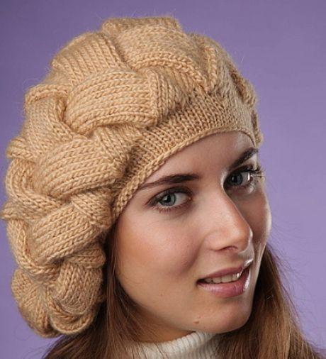 вязание спицами | Вязание, Вязаные шапки и Шапочка