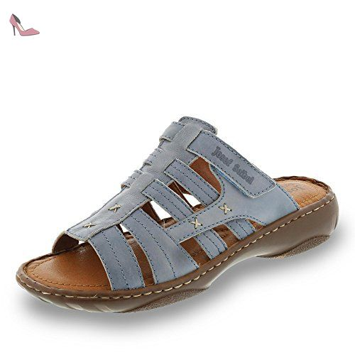 Chaussures à fermeture éclair Josef Seibel bleues femme nkPJguFUE