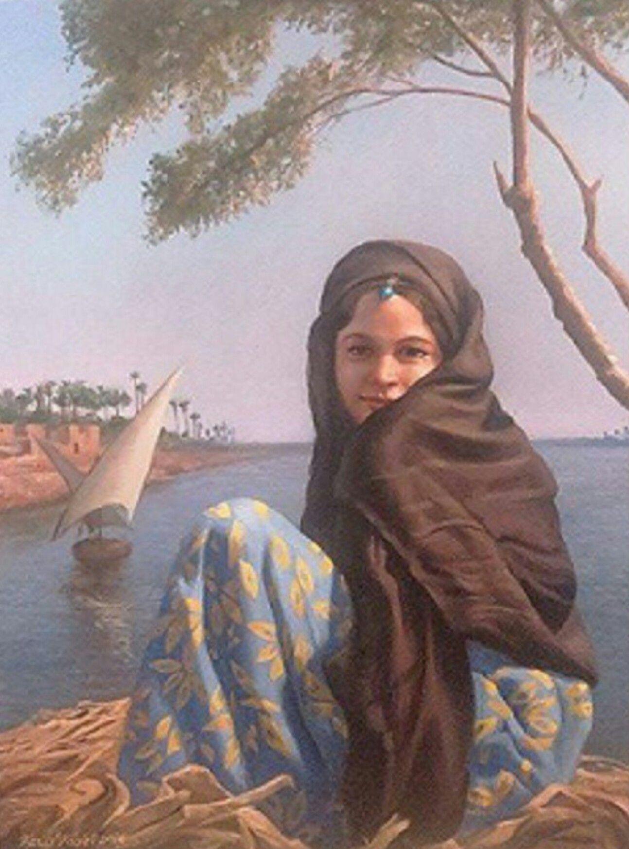 Sara Hanem Arabic Goddess