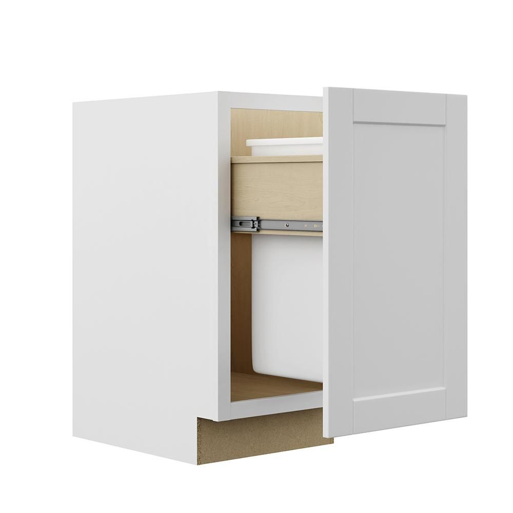 Best Hampton Bay Shaker Assembled 18X34 5X24 In Pull Out Trash 400 x 300