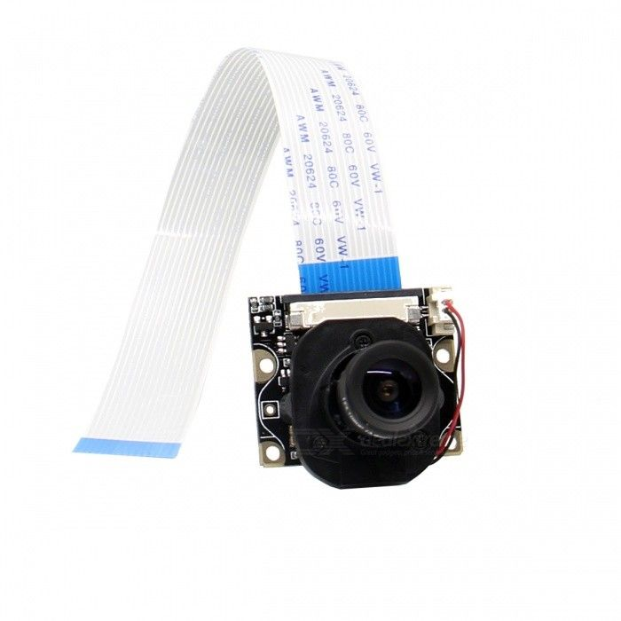 Geekworm Camera with IR-CUT Function for Raspberry Pi - Black. Find the cool gadgets at a incredibly low price