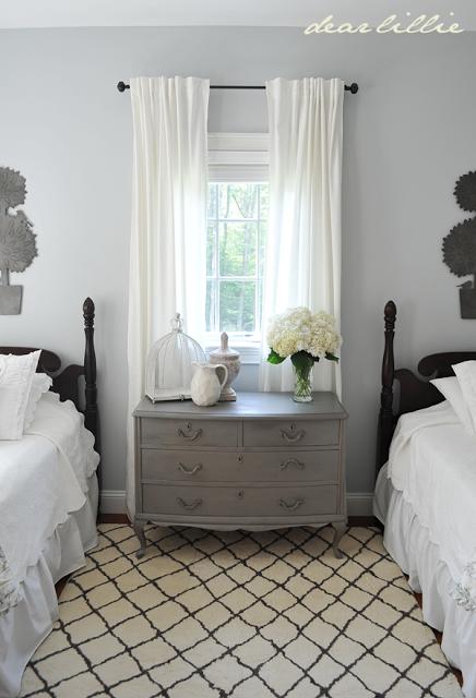 My Parentu0027s Guest Bedroom By Dear Lillie BM Pebble Beach Paint Color