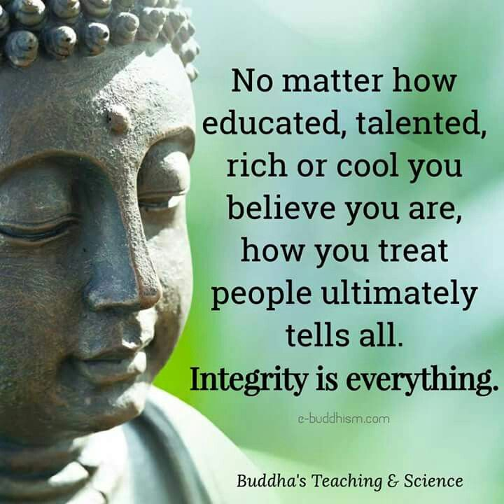 Buddha Family Quotes: How You Treat Others Is A True Reflection On Yourself