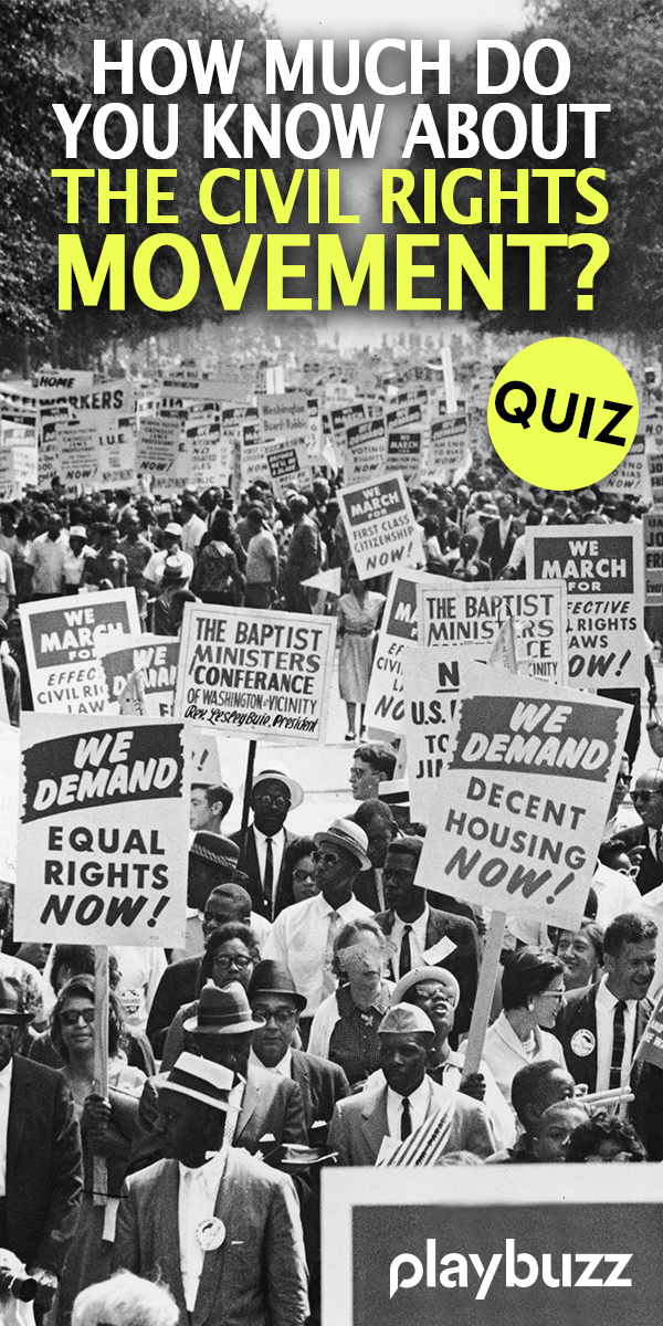 How Much Do You Know About The Civil Rights Movement? in