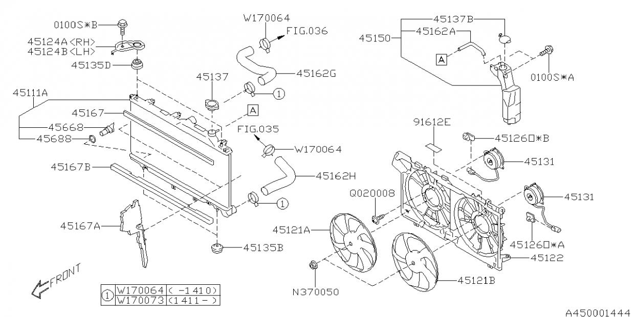Subaru Outback Engine Parts Diagram Di 2020