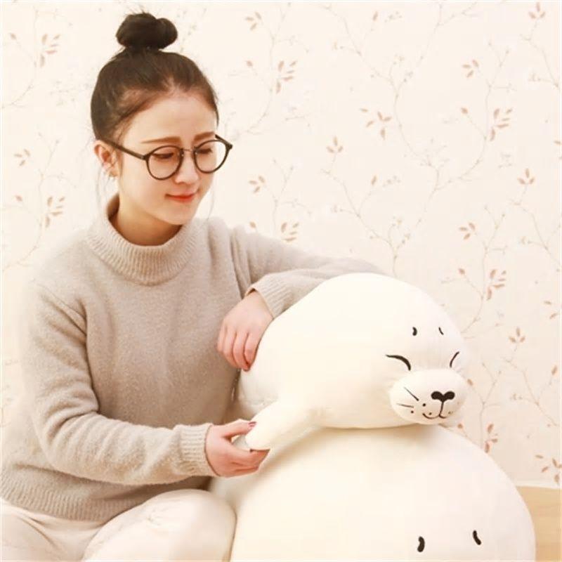 plush toy stuffed doll sea polar sleepy bear animal cute pillow cushion gift 1pc