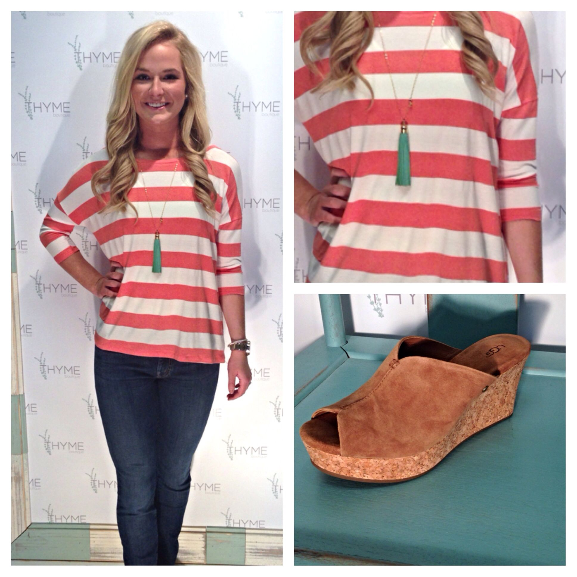 Cute top! @THYME boutique