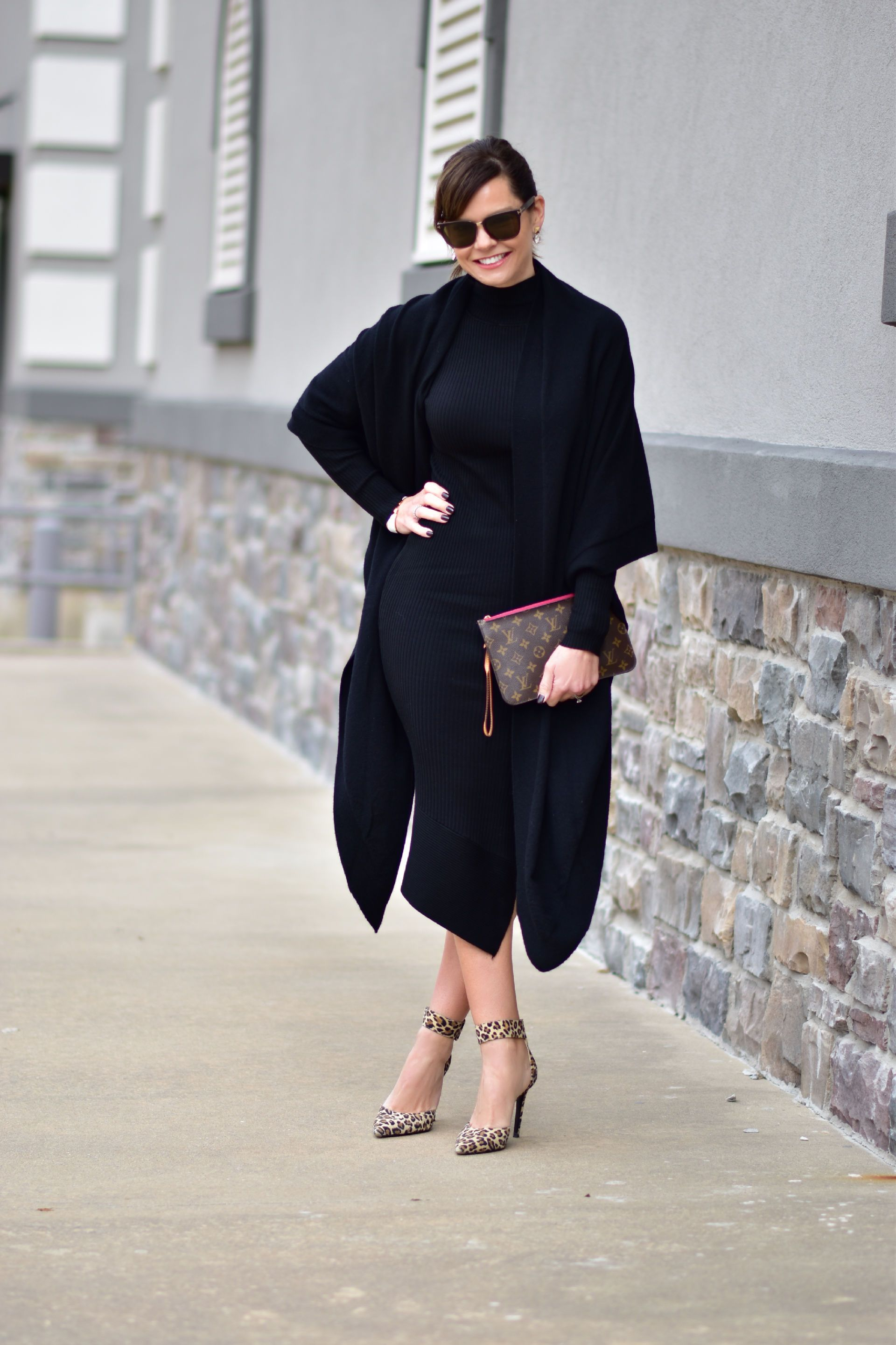 02d4578575 What to Wear to a Winter Graduation from Get Your Pretty On with Eileen  Fisher  gypo  getyourprettyon  eileenfisher  sponsored