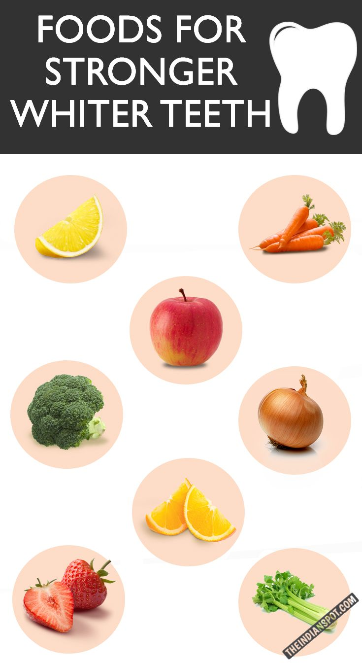 The Best 10 Foods To Eat For Stronger Whiter Teeth Healthy Teeth White Teeth Food