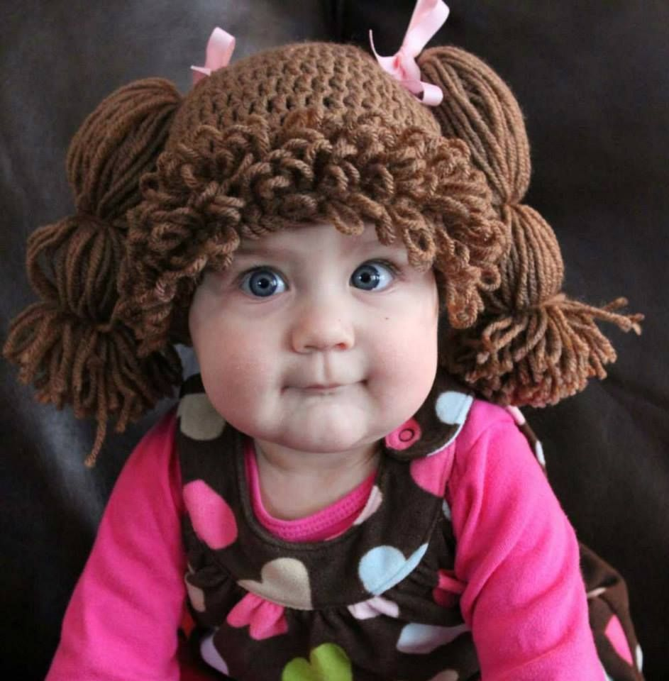 peruca bebe | crianças | Pinterest