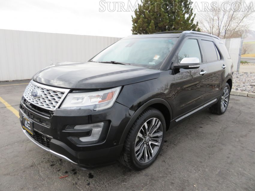 Salvage 2016 Ford Explorer for Sale in California