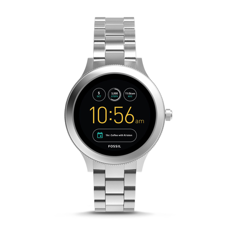 Fossil Q Venture Gen 3 Stainless Steel Silver Smartwatch