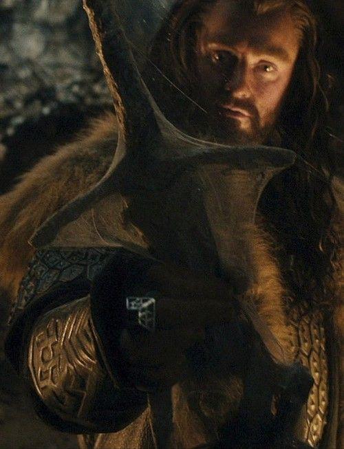 Thorin finding Glamdring.