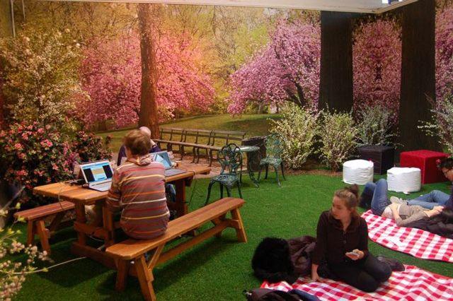 Park Here, An Indoor PopUp Park in New York City Indoor