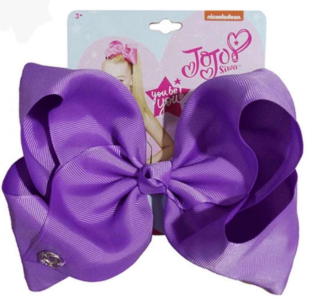 7548bb50552c NWT OFFICIALLY LICENSED NICKELODEON SIGNATURE JoJo Siwa BRIGHT PURPLE BOW   fashion  clothing  shoes  accessories  kidsclothingshoesaccs   girlsaccessories ...