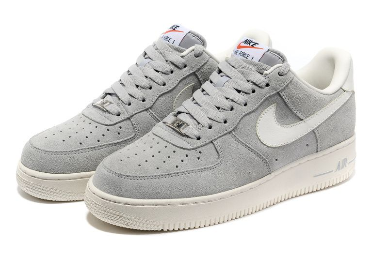 nike air force 1 grigie
