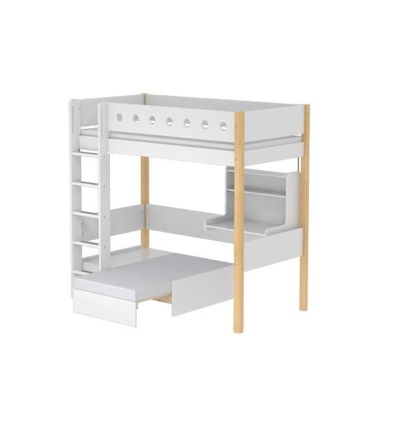 Flexa Casa Toddler High Bed With Desk Kids Rooms Pinterest