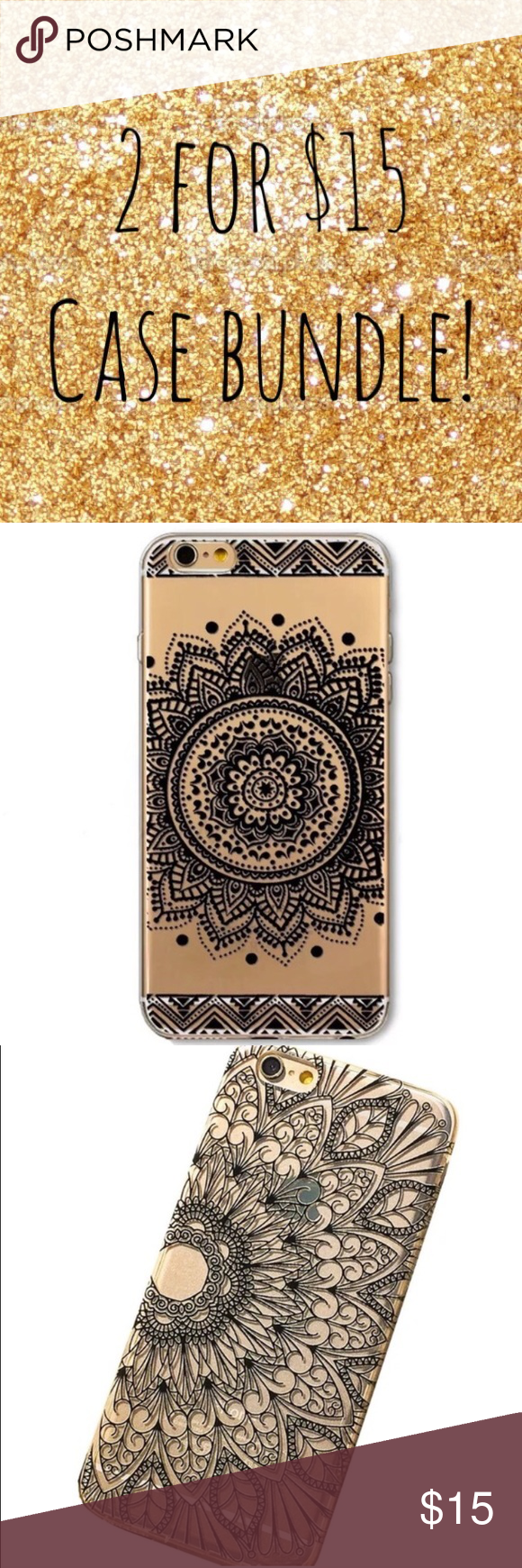 ❤️❤️❤️❤️ 2 iPhone 6/6s cases for $15! Accessories Phone Cases