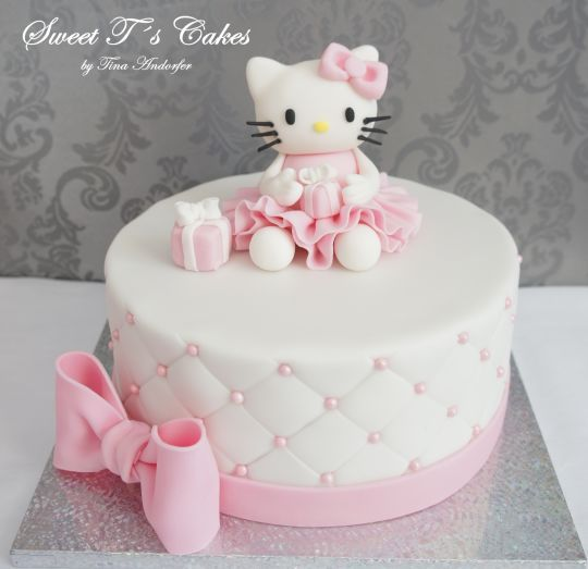 Fantastic Pin By Charlene Jones On Cakes Hello Kitty Cake Hello Kitty Personalised Birthday Cards Paralily Jamesorg