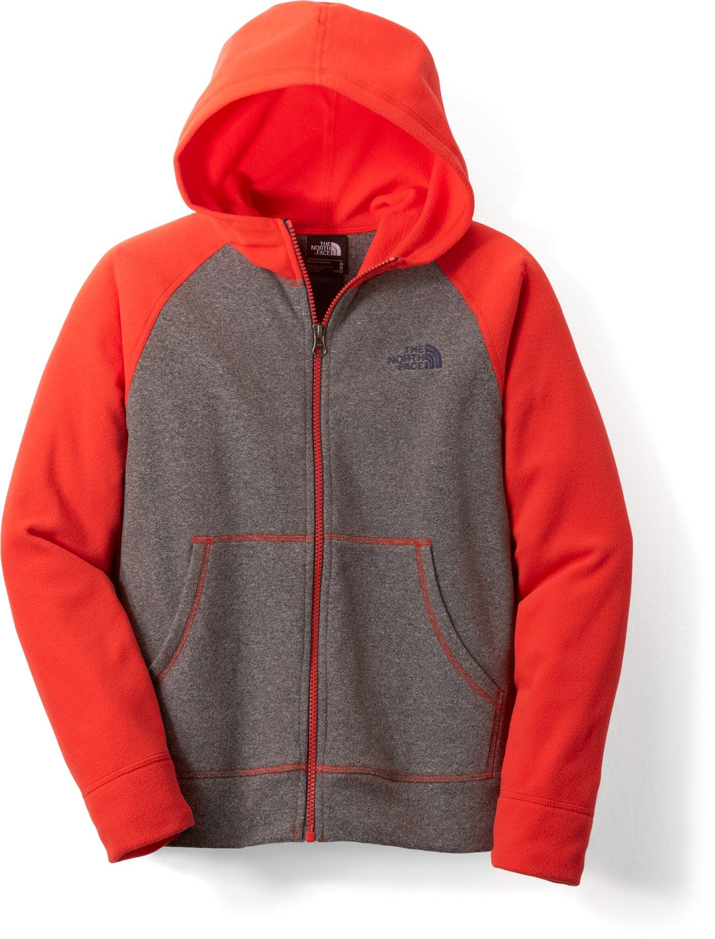 The North Face Male Glacier Full-Zip Hoodie - Boys'