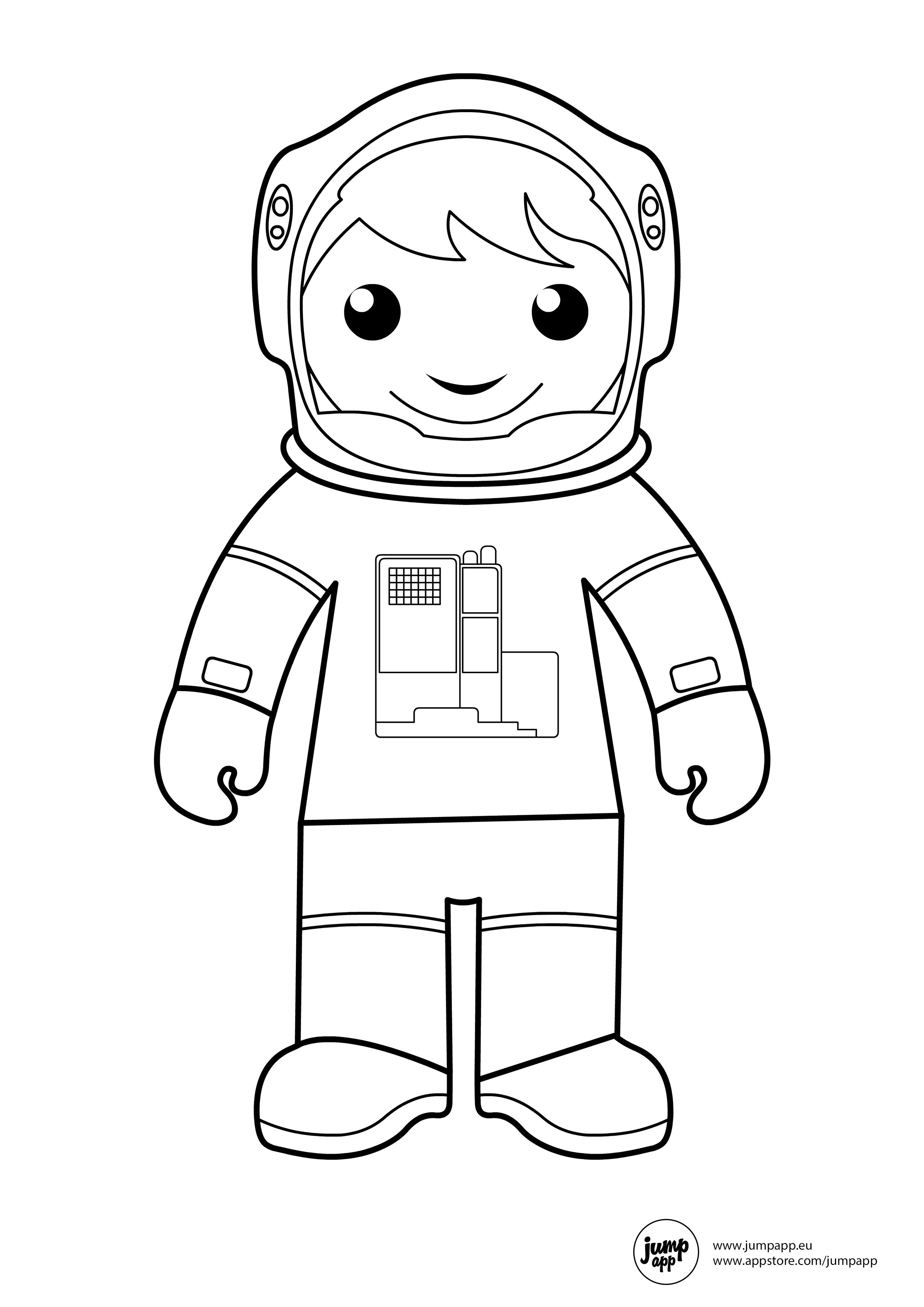 astronaut coloring pages print - astronaut printable coloring pages pinterest
