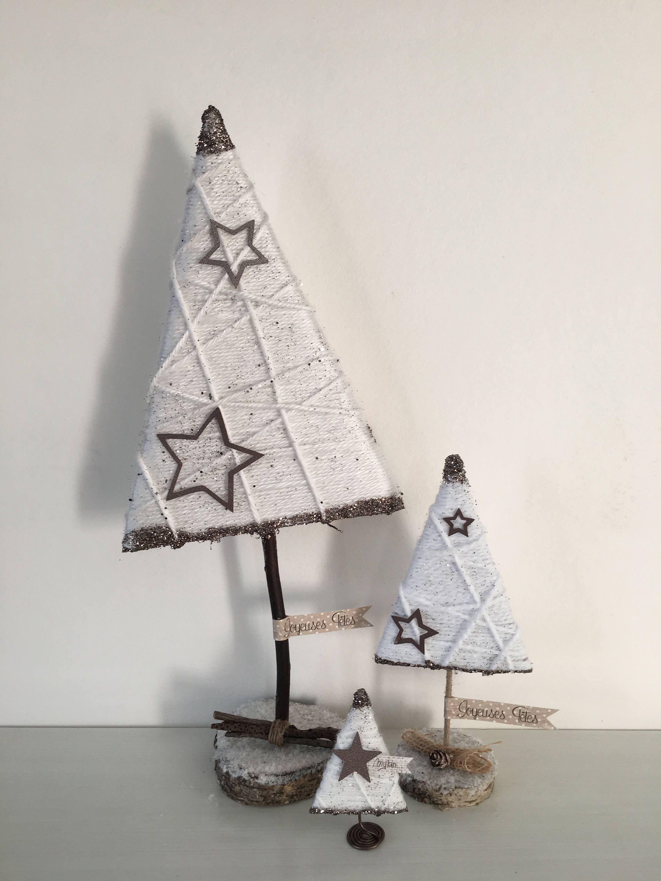 Pinterest decoration de noel en bois