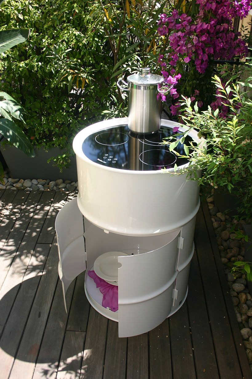 Barrel 12 Chef for outdoor #recycling #barrel #outdoor #design ...