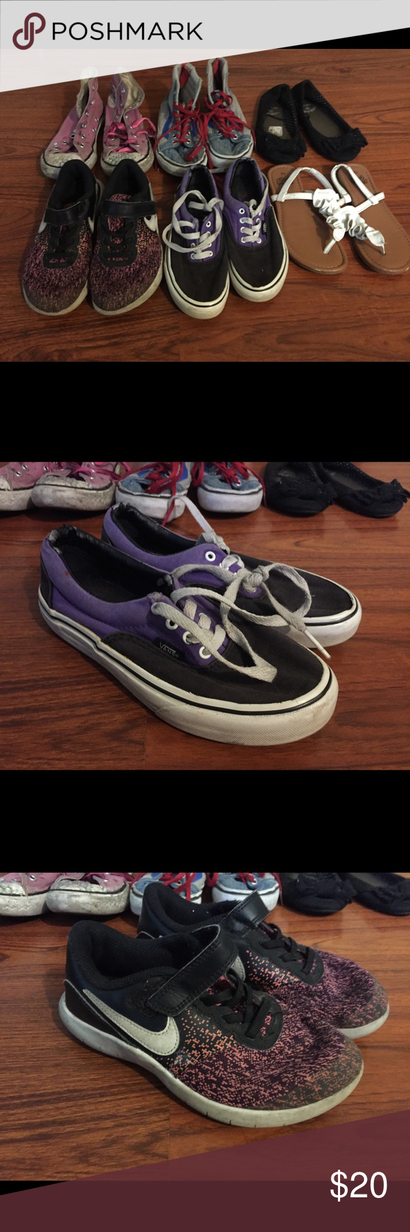 vans to nike size