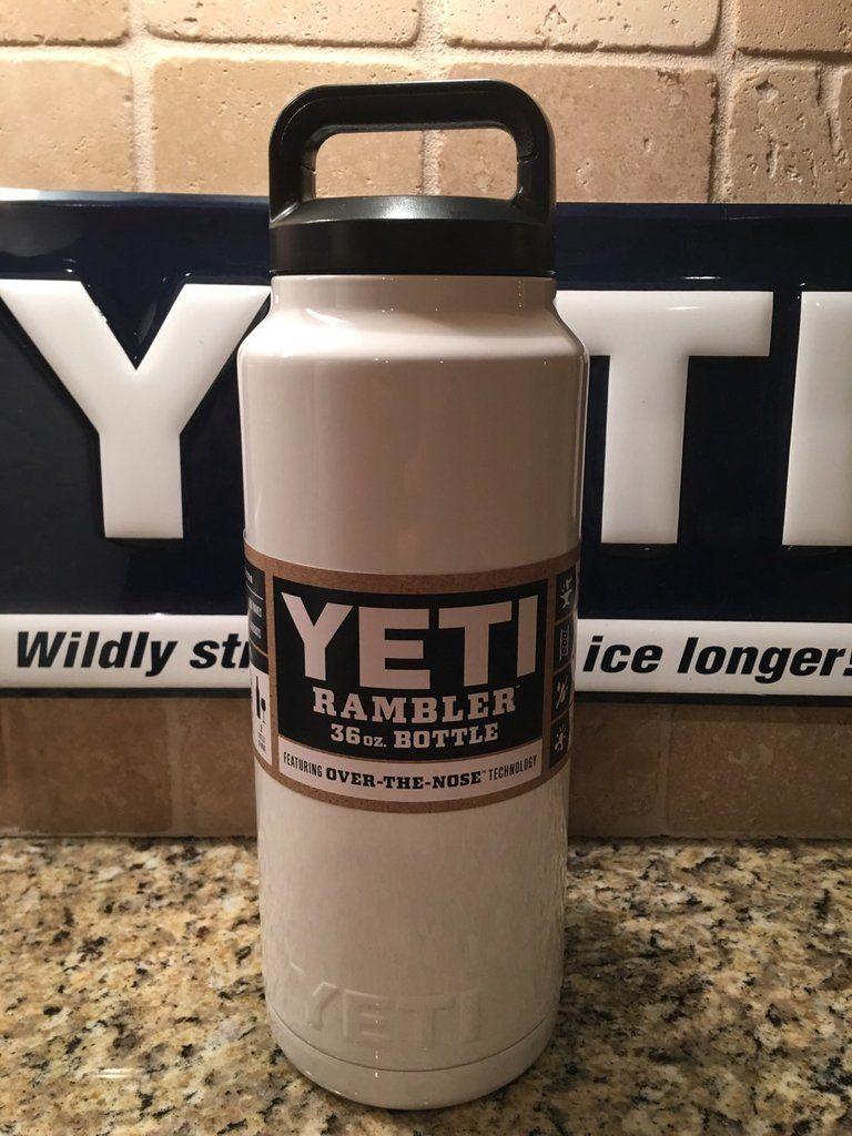 ca2209b7799 Custom YETI Rambler Bottle Powder Coated Gloss White | Bottles ...