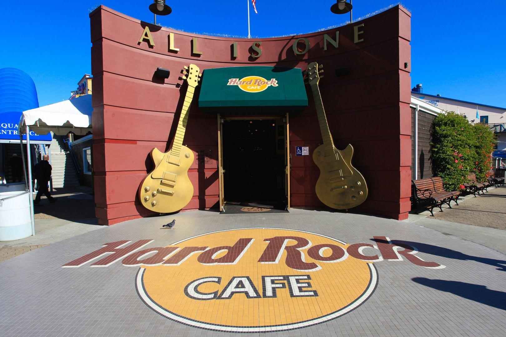 Hard Rock Cafe San Francisco. Used Of Time
