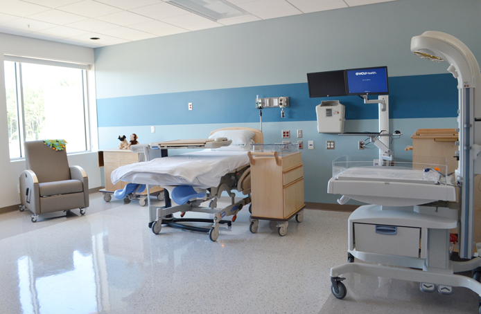 north central baptist labor and delivery rooms