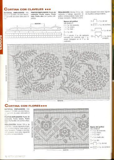 Kira scheme crochet: Scheme crochet no. 1888