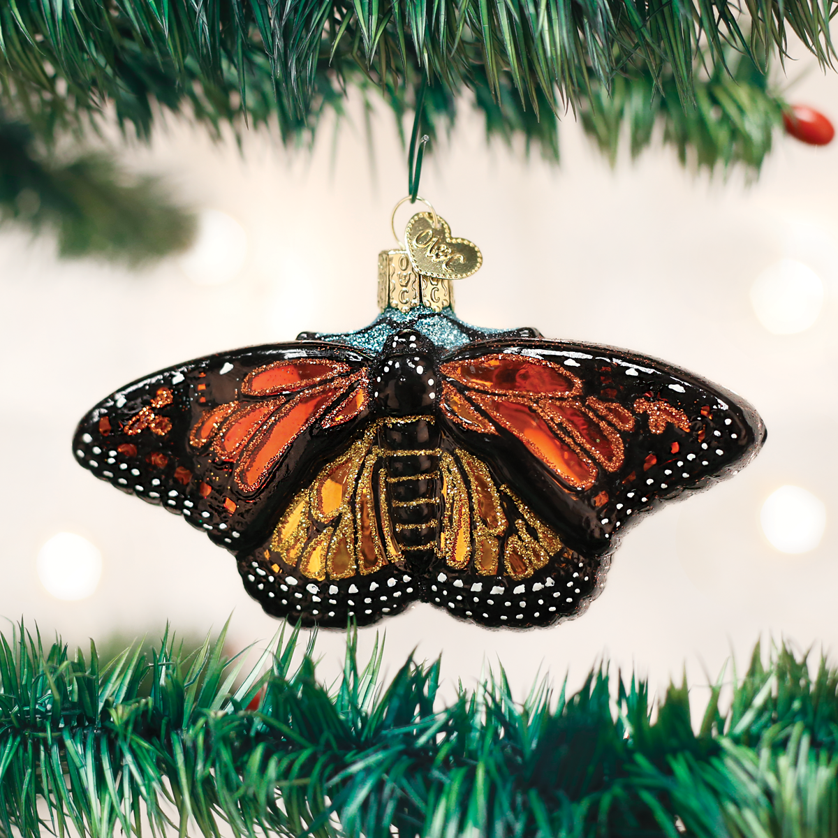 Monarch Butterfly Ornament Old World Christmas Ornaments Butterfly Ornaments Old World Christmas
