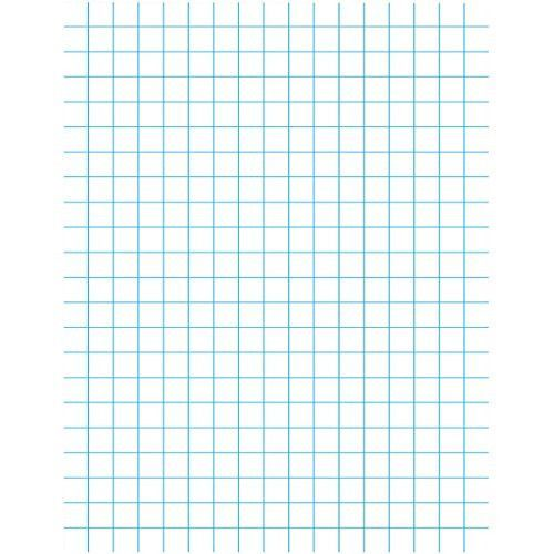 1 2 Graph Paper 500 Sheets