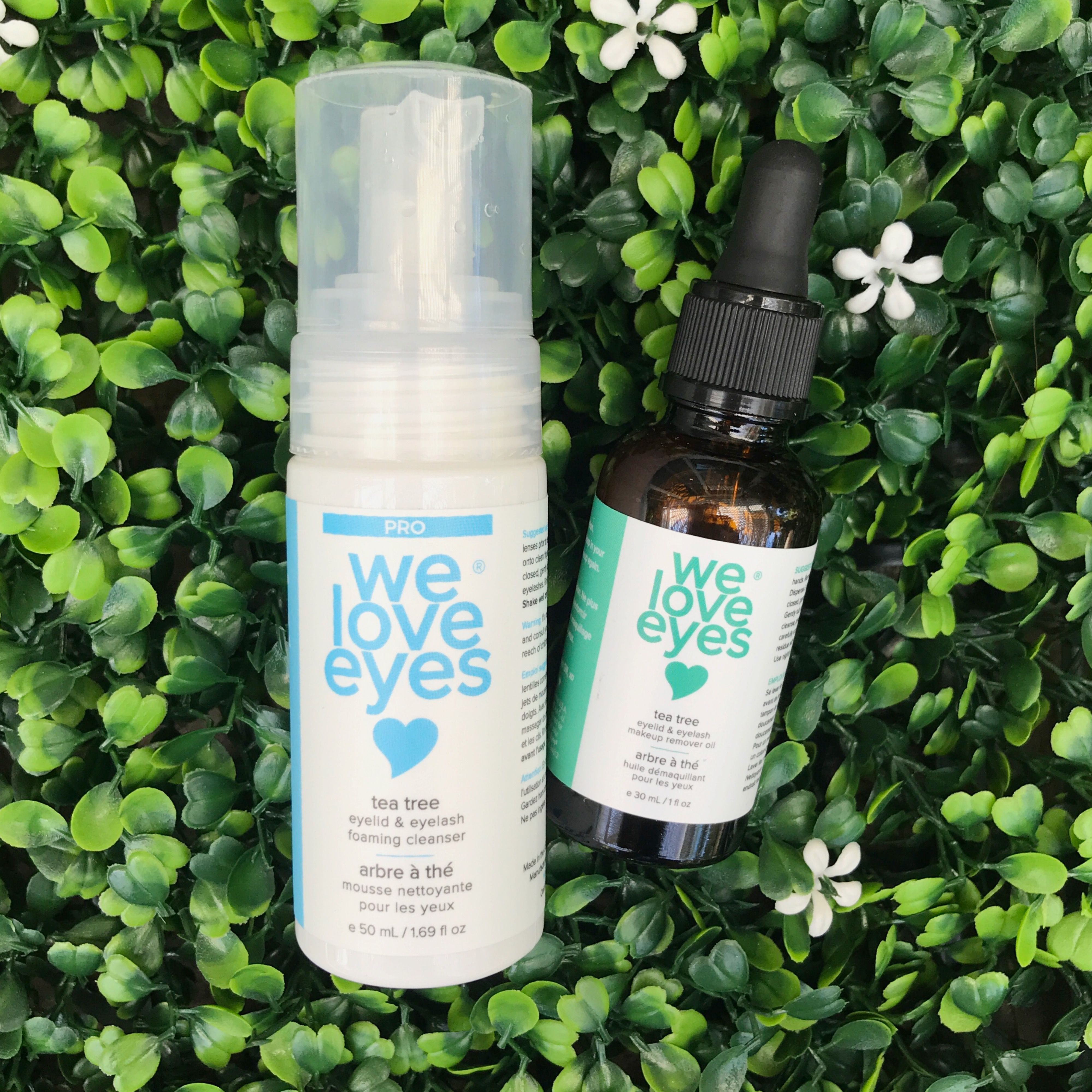 The Eye Makeup Removal Kit Chemical free eye makeup
