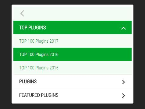 slider-menu is a very small #jQuery menu plugin that converts nested