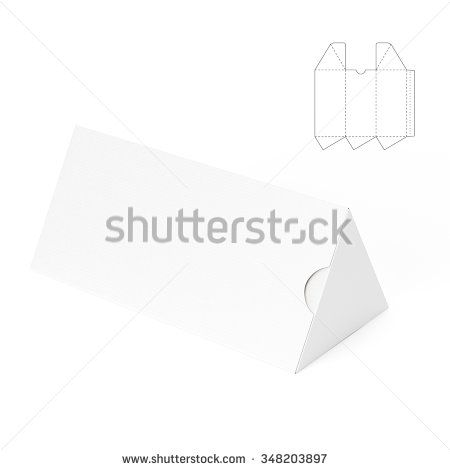 Triangular Tube Box with Die Cut Template Packaging Pinterest - sample small envelope template