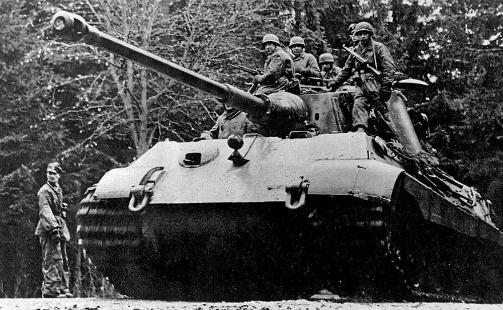 Image result for German king tiger tank the ardennes