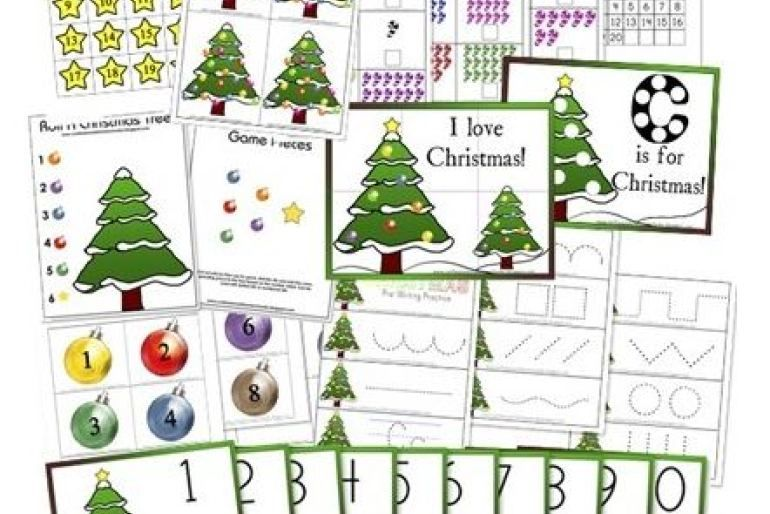 Divertidas fichas imprimibles para navidad | Navidad | Pinterest ...