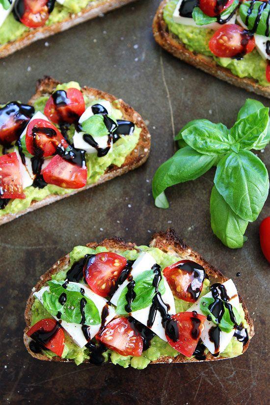 Caprese Avocado Toast Recipe
