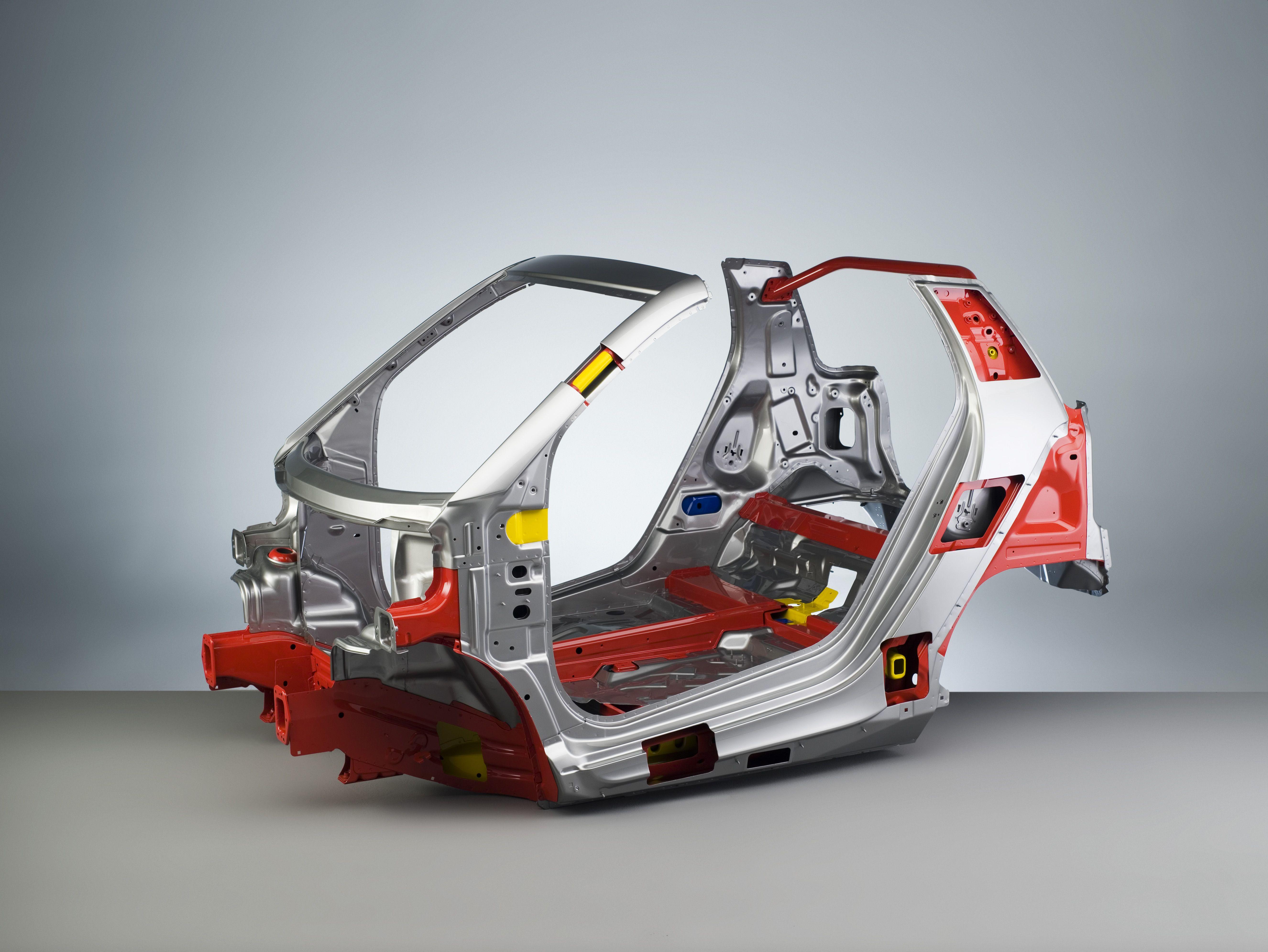 Smart Car body cage