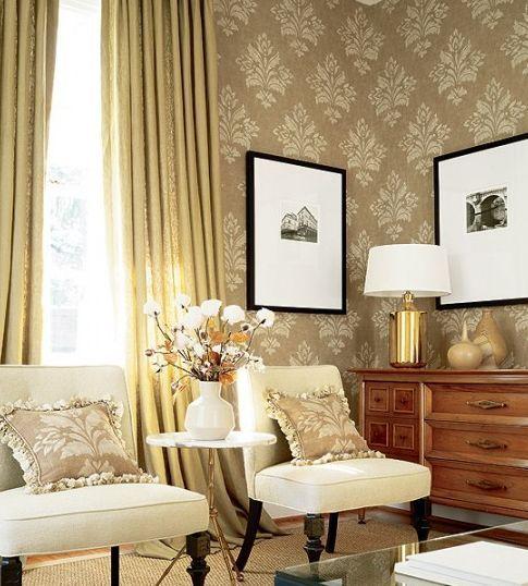 Classic room wallpaper