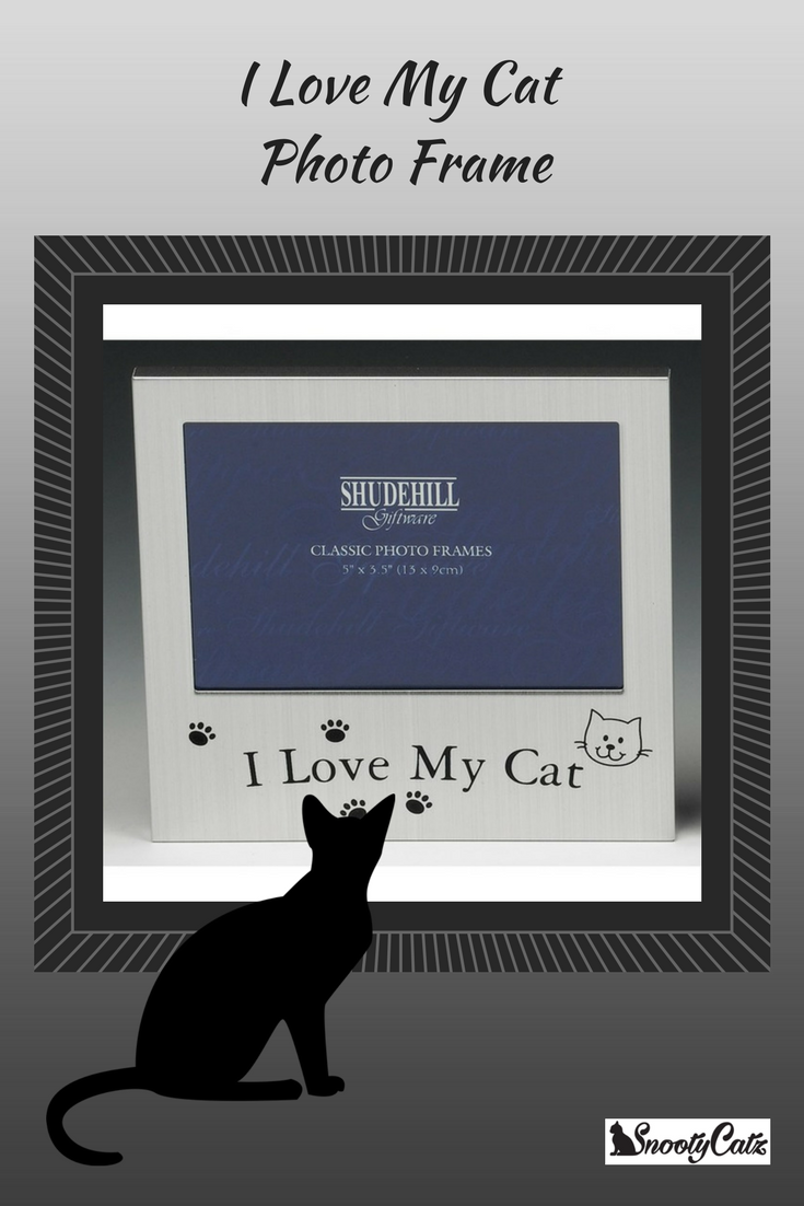 I Love My Cat Photo Frame In 2018 Stuff To Buy Pinterest Cats